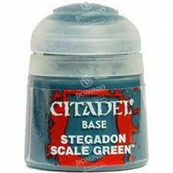 5011921026371 Peinture Citadel Base ( Stegadon Scale Green ) 12ml