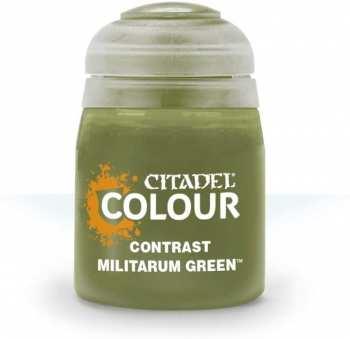 5011921120819 Peinture Citadel Contrast ( Militarum Green ) 18ml