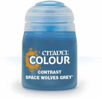 5011921120932 Peinture Citadel Contrast ( Space Wolves Grey ) 18ml