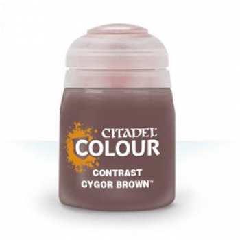 5011921120864 Peinture Citadel Contrast ( Cygor Brown ) 18ml