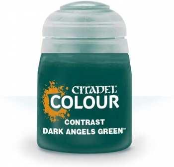 5011921120772 Peinture Citadel Contrast ( Dark Angels Green ) 18ml