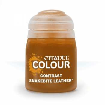 5011921120840 Peinture Citadel Contrast ( Snakebite Leather ) 18ml