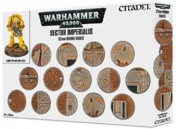 5011921073153 Warhammer 40k Sector Imperialis Socles Ronds 32mm