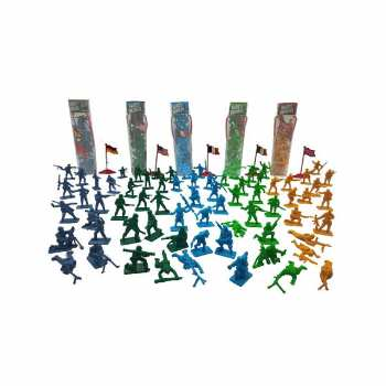 8712051028781 Petits Soldats En Tubes 16 Pieces 5 Cm