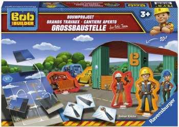 4005556213115 Jeu De Societe - Bob Le Bricoleur Les Grand Travaux 3 ans - Ravensburger