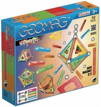 871772008019 Geomag Kit 35 Pieces Pieces Magnetiques Confetti