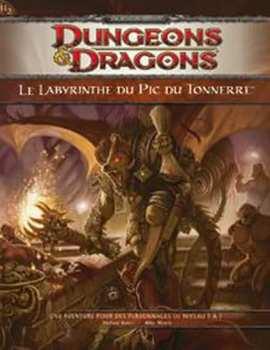 9782357830066 Dungeons Et Dragons Le Labyrinthe Du Pic Du Tonnerre