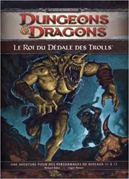 9782357830141 Dungeons Et Dragons Le Roi Du Dedale Des Trolls