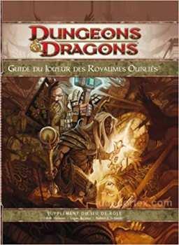 9782357830103 Dungeons Et Dragons Guide Des Joueurs Des Royaumes Oublies