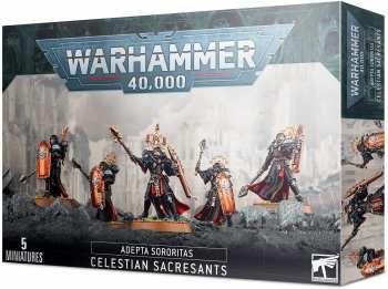 5011921139248 Figurines Warhammer 40K Adepta Sororitas Celestian Sacresants