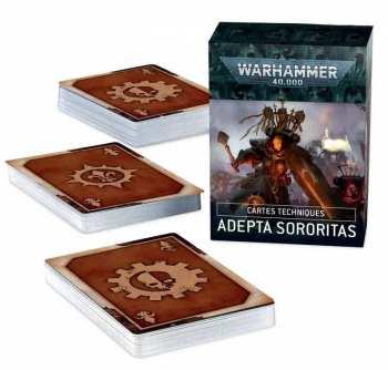 5011921157273 ccessoire Warhammer 40K Datacards Adepta Sororitas ( Francais)