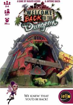 3760175513046 Welcome Back To The Dungeon - Iello