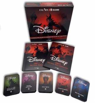 9782017095736 scape Game Disney - Hachette -