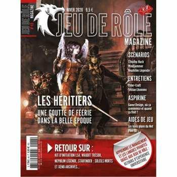 3781784309509 Jeu De Role Magazine - Numero 54 - Ete 2021