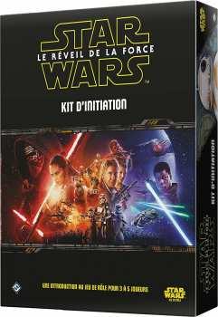 9788416357383 Star Wars Le Reveil De La Force - Kit D Initiation - Jeu De Role