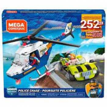 887961843149 Mega Construx Set Porsuite Policiere 252 Pcs +5 Ans