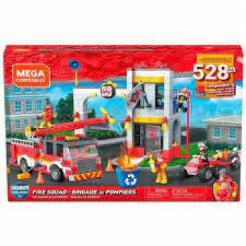 887961843156 Mega Construx Set Brigade Pompiers 528 Pcs 5+ Ans