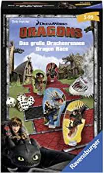 4005556234325 Dragons Le Grand Jeu De Course De Dragon - Ravensburger -