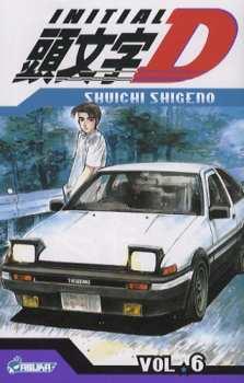 9782849657133 Manga Initial D Tome 6 - Kaze -